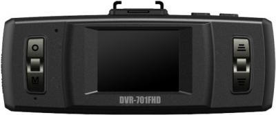 Автомобильный видеорегистратор TeXet DVR-701FHD Black - дисплей
