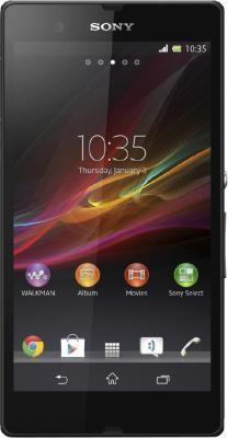 Смартфон Sony Xperia ZL (C6503) Black - общий вид
