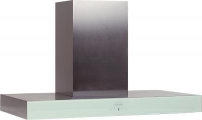 Вытяжка Т-образная Elikor Агат 90 (нержавеющая сталь/белый) - общий вид