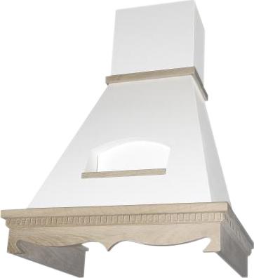 Вытяжка купольная Elikor Бельведер 60П-650-П3Г (бежевый/дуб неокрашенный) - общий вид