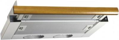 Вытяжка телескопическая Elikor Интегра 50 (белый/дуб коричневый) - общий вид