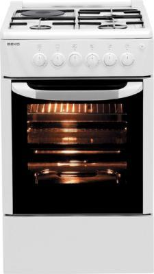 Кухонная плита Beko CSE 53020 GW - общий вид