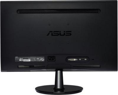 Монитор Asus VS208DR - вид сзади