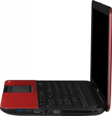 Ноутбук Toshiba Satellite C850-D1R - вид сбоку