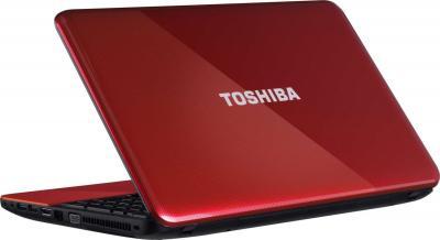 Ноутбук Toshiba Satellite C850-D1R - вид сзади