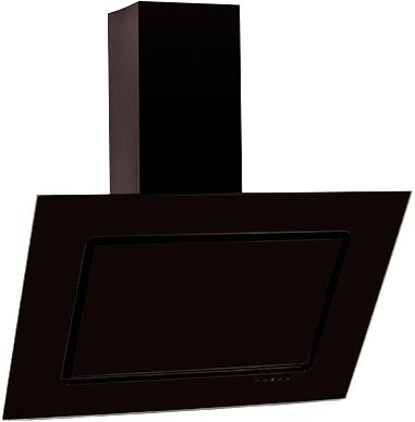 Вытяжка декоративная Elikor Оникс (90 Black) - общий вид