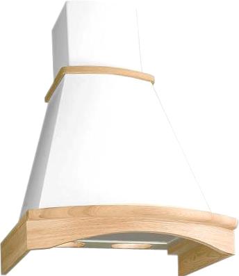 Вытяжка купольная Elikor Ротонда 60П-650-П3Л (бежевый/дуб неокрашенный) - общий вид