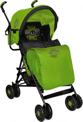Детская прогулочная коляска Bertoni Sun (Black-Green Sunny City) - чехол для ног