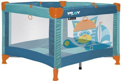 Игровой манеж Lorelli Play Cat Aquamarine - общий вид
