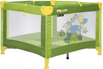 Игровой манеж Lorelli Play Dinos Green - общий вид