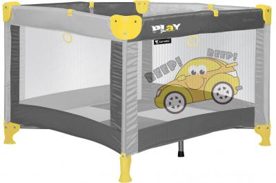 Игровой манеж Lorelli Play Station Cars Gray - общий вид