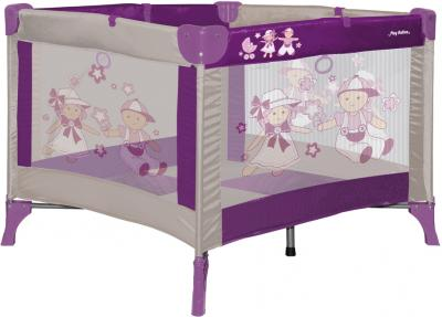 Игровой манеж Lorelli Play Station Dolls Violet - общий вид