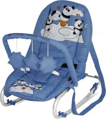 Детский шезлонг Lorelli Top Relax Blue Pandas - общий вид