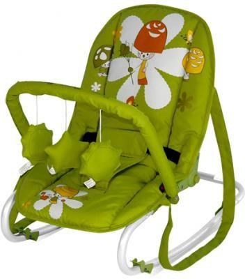 Детский шезлонг Lorelli Top Relax Green Mushrooms - общий вид
