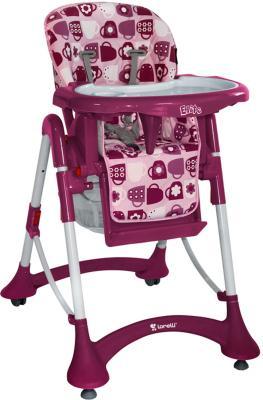 Стульчик для кормления Lorelli Elite Pink Cups - общий вид