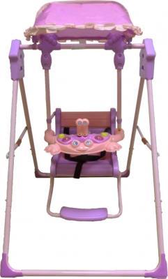 Качели для новорожденных Bertoni Garden Swing Pink - общий вид