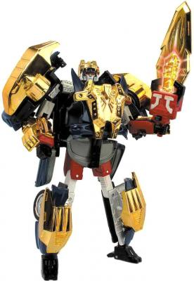 Робот-трансформер Happy Well Ягуар XJ220 - общий вид
