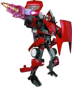 Робот-трансформер Happy Well Пежо RC (53050) - общий вид