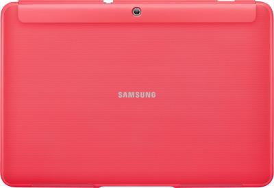 Чехол для планшета Samsung TAB 2 10.0/P5100 Berry Pink - вид сзади