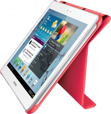Чехол для планшета Samsung TAB 2 10.0/P5100 Berry Pink - вид сбоку (с планшетом)