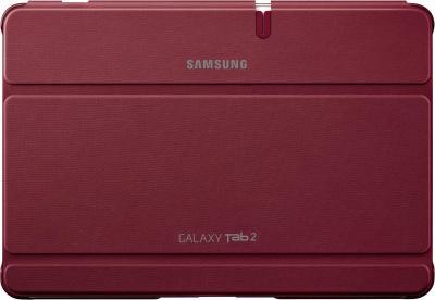 Чехол для планшета Samsung TAB 2 10.0/P5100 Garnet Red - фронтальный вид