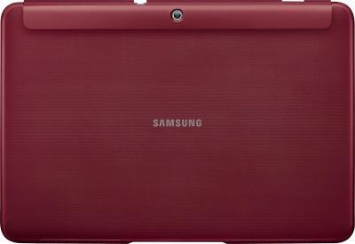 Чехол для планшета Samsung TAB 2 10.0/P5100 Garnet Red - вид сзади