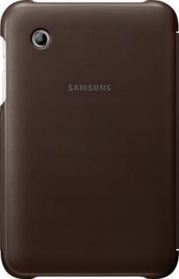 Чехол для планшета Samsung TAB 2 7.0/P3100 Brown - вид сзади