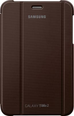 Чехол для планшета Samsung TAB 2 7.0/P3100 Brown - вид спереди