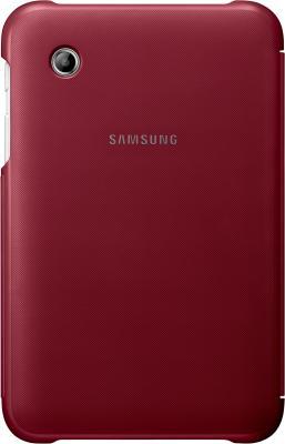 Чехол для планшета Samsung TAB 2 7.0/P3100 Garnet Red - вид сзади