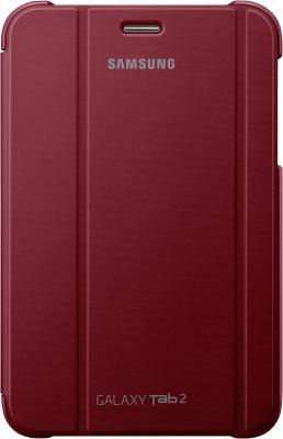 Чехол для планшета Samsung TAB 2 7.0/P3100 Garnet Red - вид спереди