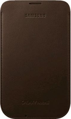 Футляр Samsung N7100 Choco Brown - общий вид