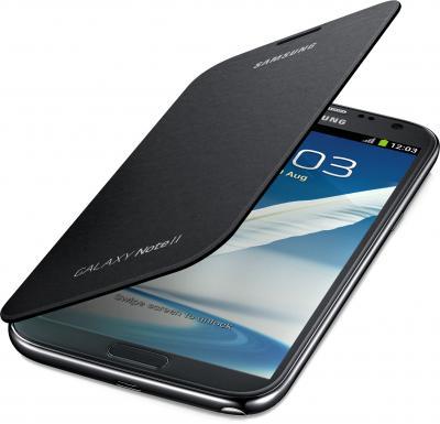 Чехол-книжка Samsung Flip Cover N7100 Graphite - общий вид