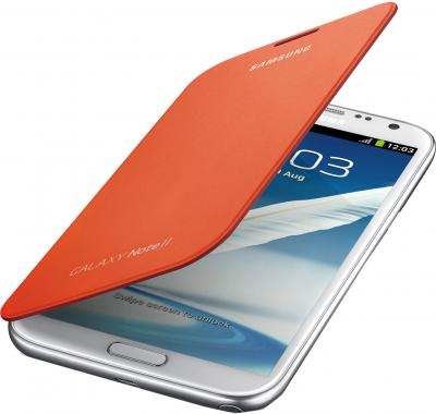 Чехол-книжка Samsung Cover N7100 Orange - общий вид