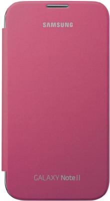 Чехол-книжка Samsung Flip Cover N7100 Pink - общий вид