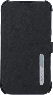 Чехол-книжка Anymode Cradle Case i9100 Black - вид спереди