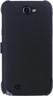 Чехол-книжка Anymode Cradle Case i9100 Black - вид сзади