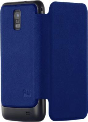 Чехол-книжка Anymode Folio cover i9100 Blue - общий вид