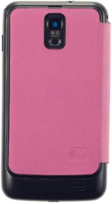 Чехол-книжка Anymode Folio Cover i9100 Pink - общий вид