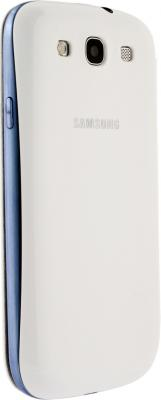 Чехол-книжка Samsung Flip Cover i9300 Marble White - общий вид