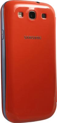 Чехол-книжка Samsung Flip Cover i9300 Orange - общий вид