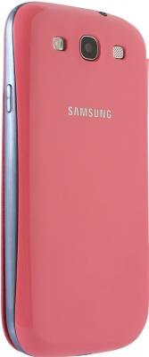 Чехол-книжка Samsung Flip Cover i9300 Pink - общий вид