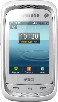 Мобильный телефон Samsung Champ Neo Duos / C3262 (белый) - общий вид