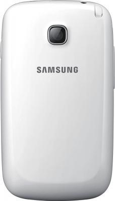 Мобильный телефон Samsung Champ Neo Duos / C3262 (белый) - задняя панель