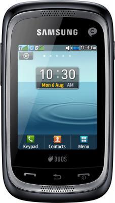 Мобильный телефон Samsung Champ Neo Duos / C3262 (черный) - общий вид