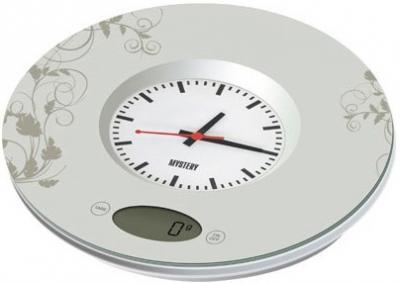 Кухонные весы Mystery MES-1813 - вполоборота