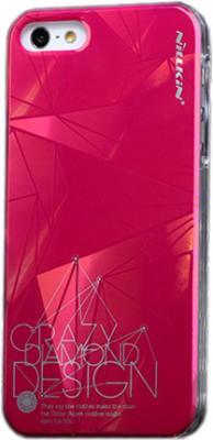 Задняя крышка для Apple iPhone 5 Nillkin 3D-Suiying Type Ice Red - общий вид