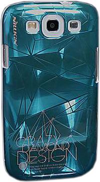 Задняя крышка для Samsung I9300 Nillkin 3D-Suiying Type Ice Blue - общий вид