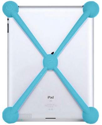 Задняя крышка для планшета Nillkin Largemouth Shockproof (зеленый) - крепление на планшете