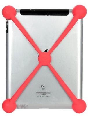 Задняя крышка для планшета Nillkin Largemouth Shockproof Pink - крепление на планшете