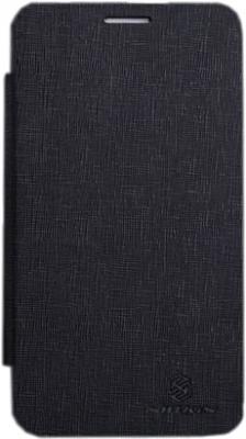 Чехол-флип для Samsung N7100 Nillkin Crossed Style Black - общий вид